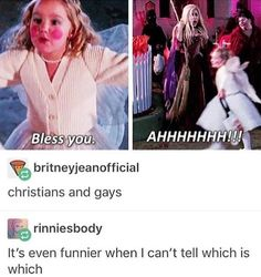 As a lesbian or whattfever I say the gays are the ones screaming. Funny Quotes, Funny Memes, Funny Shit, Tumblr Funny, Funny Posts, Laugh Out Loud, The Funny, Equality, Just In Case
