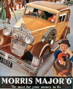 Morris Major 6 1932 Advert