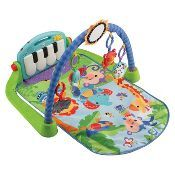Baby Gym Floor Play Mat Activity Center Fisher Price Kick and Play Piano Toy Baby Gym, Baby Tritte, Baby Sleep, Brinquedos Fisher Price, Fisher Price Baby Toys, Ri Happy, Baby Musical Toys, Activity Mat, Baby Kicking