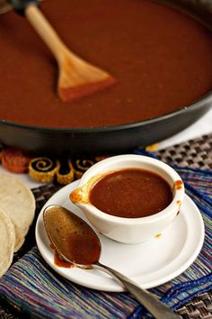 This enchilada sauce is so incredibly easy to make and it tastes infinitely better than the zippy-tinny sauce you can buy at the store.