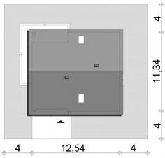 Sytuacja SD Fano D CE Modern Brick House, Lockers, Locker Storage, Home Decor, Decoration Home, Room Decor, Locker, Closets, Cabinets