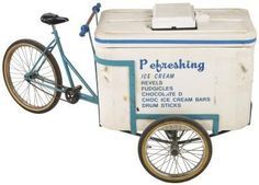 Somebody wrote an article on how to build ice cream pedal bikes!