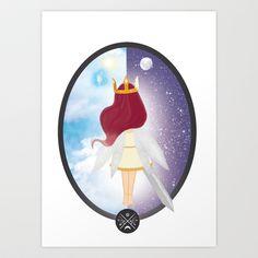 Bringer of light Art Print by Megan Kate Art - $17.00