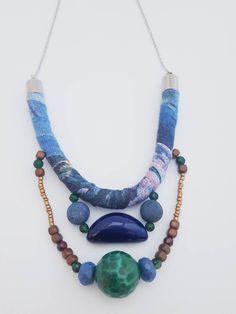 Turquoise Necklace, Beaded Necklace, Bohostyle, Shops, Etsy Shop, Vintage, Creative, Modern, Jewelry