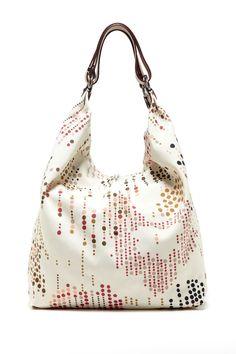 Large Graphic Print Shoulder Bag