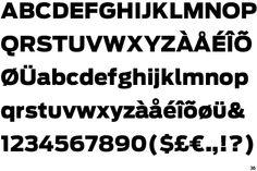 Font - Antenna Black