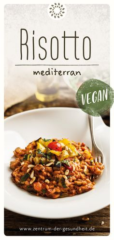 Veggie Recipes, Healthy Recipes, Cook N, Risotto Recipes, Love Eat, Vegan Dishes, Going Vegan, Healthy Cooking, Food Inspiration