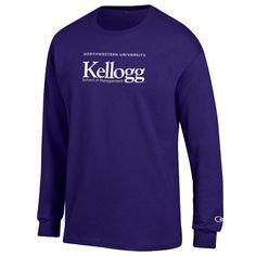 2ddac7c31 NORTHWESTERN® KELLOGG® PURPLE L/S TEE Long Sleeve Tees, Raiders, Royal