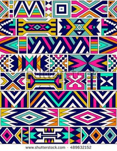 Find Retro Colors Tribal Vector Seamless Ndebele stock images in HD and millions of other royalty-free stock photos, illustrations and vectors in the Shutterstock collection. Retro Pattern, Pattern Art, Abstract Pattern, Fabric Painting, Fabric Paper, Ethno Style, Abstract Geometric Art, Geometry Pattern, Tribal Patterns