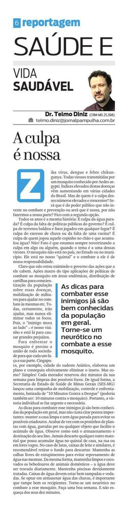 Pampulha - Sáb, 12/12/2015 by Tecnologia Sempre Editora