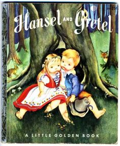 I Love Eloise Wikin - Hansel & Gretel Little Golden Book