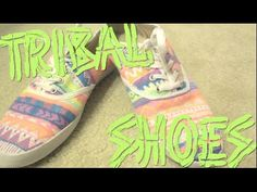 ▶ DIY Canvas Sneakers with Fabric Markers | Trick Your Kicks Challenge - YouTube