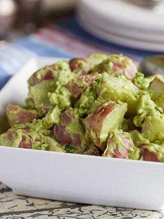 Creamy Vegan Avocado Potato Salad
