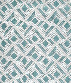 Shop P. Kaufmann Facet Turquoise Fabric at onlinefabricstore.net for $8.95/ Yard. Best Price & Service.