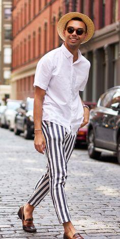A summer look in New York by @joseph.lucido #summer #tiesdotcom #guru #menswear #menfashion #summeroutfits