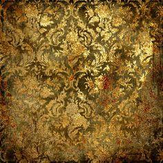 Baroque Gold Pattern #TopshopPromQueen