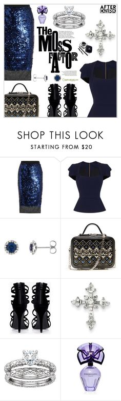 """""""After Dark: Perfect Party Outfit"""" by applesofgoldjewelry ❤ liked on Polyvore featuring By Malene Birger, Roland Mouret, Boohoo, BCBGMAXAZRIA and Apples of Gold"""