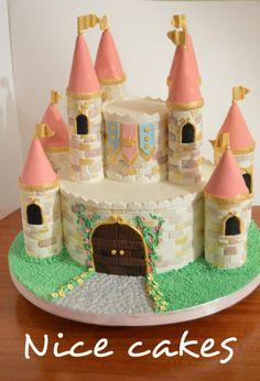 Princess Castle cake by Nice Cakes