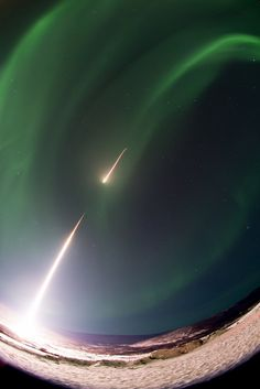 February 27, 2017: NASA launched a Black Brant IX sounding rocket straight toward the northern lights early Wednesday (Feb. 22). It was the first of two rockets launched from the Poker Flat Research Range in Alaska that will study the structure of auroras using an instrument called ISINGLASS (Ionospheric Structuring: In Situ and Groundbased Low Altitude StudieS). — Hanneke Weitering