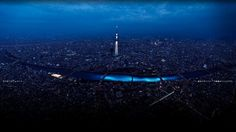 100,000 LED Become Fake Fireflies On Tokyo's Sumida River | The Creators Project