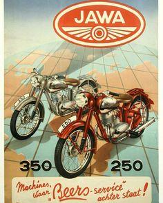 Jawa 250/350 Ad poster