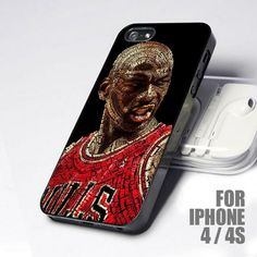 Quotes Basketball Michael Jordan design for iPhone 4 or 4s case