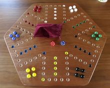 Sepele Aggravation Board Game (with Marbles)