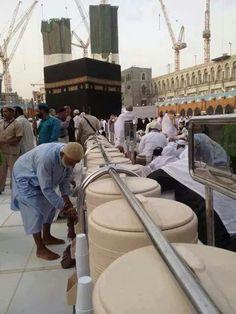 Zam zam water ..masha Allah