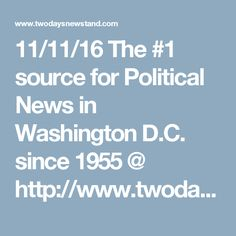 11/11/16 The #1 source for Political News in Washington D.C. since 1955  @ http://www.twodaysnewstand.com/roll-call.html or Video @ http://video.rollcall.com/?pos=rcnav Please Share our Site@ www.twodaysnewstand.com And @ https://plus.google.com/collection/wz4UXB © Copyright 2010 - Common Society Media © - All rights reserved Please Share Us