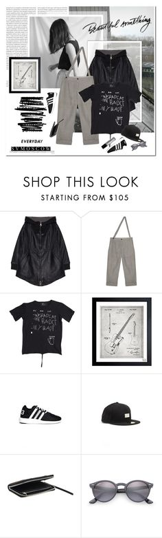 """""""Have a great week"""" by undici ❤ liked on Polyvore featuring Oris, Oliver Gal Artist Co., Y-3, Yohji Yamamoto, Ray-Ban and Demeter Fragrance Library"""