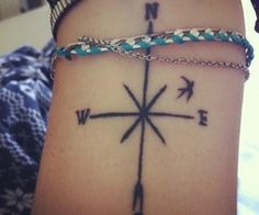 tumblr compass tattoo   months ago in collection: Ink