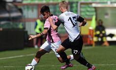 """#Cesena #Palermo 0-0. Secondo 0-0 consecutivo per il Palermo dopo quello rimediato in casa contro l'Empoli. Questa volta in trasferta allo stadio """"Dino Manuzzi"""" contro un Cesena non irresistibile dove il Palermo non hanno saputo sfruttare al meglio le loro potenzialità."""