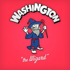 "Washington ""the Wizard"" logo design as cartoon character Basketball Motivation, Basketball Goals, Basketball Quotes, Basketball Leagues, Basketball Design, Basketball Video Games, Basketball Shooting, Wizards Logo, Washington Wizards"