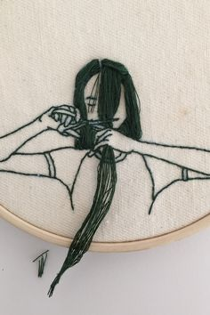 Interview With Model and Embroidery Artist Sheena Liam | Teen Vogue