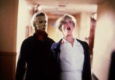 Dana Carvey and Catherine Bergstrom in Halloween II Halloween Ii, Halloween Movies, Halloween Horror, Scary Movies, Hd Movies, Happy Halloween, Horror Icons, Horror Films, Dark Beauty