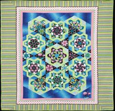 Flamingos in Paradise. Quilt from Doubledipity: More Serendipity Quilts by Sara Nephew