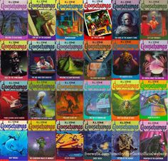 Goosebumps every kid who grew up in the 90's had at least one of these lol