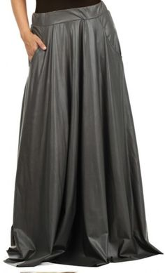 plus size fashion, plus size clothing, midi skirt, faux leather ...