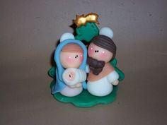 *SORRY, no information as to product used ~ MINI PESEBRE by Alejandra Semberg