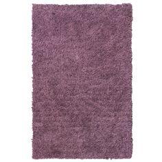 Downy Purple Shag Area Rug