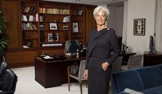 """Christine Lagarde: """"La vie est un privilège"""""""