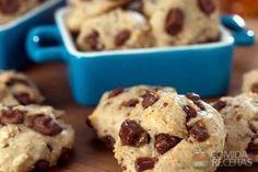 Receita de Cookie de chocolate em receitas de biscoitos e bolachas, veja essa e outras receitas aqui!