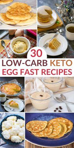 Eggfast Recipes, Low Carb Recipes, Diabetic Recipes, Lunch Recipes, Healthy Recipes, Egg Diet Plan, Keto Meal Plan, Keto Egg Recipe, Fast Food Diet