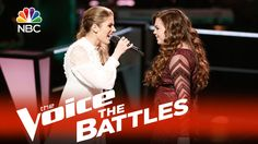 """#ShrugsShoulders I felt a little weird   but I liked it ...The Voice 2015 Battle - Katelyn Read vs. Treeva Gibson: """"Addicted to Love"""""""