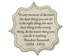 Decision Making - How to make the tough decisions and how to let go of what's not in your control.