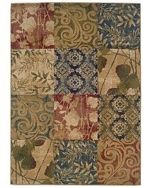 """MANUFACTURER'S CLOSEOUT! Oriental Weavers Area Rug, Yorkville 2422A 1'10"""" x 7'3"""" Runner Rug"""