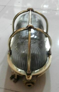 NEW BRASS RECLAIMED FROM SHIP LIGHTS NAUTICAL WALL MARINE PASSAGEWAY LIGHT