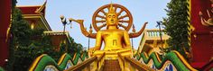 Buddhastatue in Koh Samui (c) fotolia