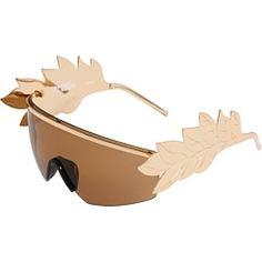 b29f18565ccb Linda Farrow Projects JSCAESARSUN at 6pm.com - StyleSays Gold Sunglasses