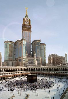 Mekkah I want to go there together with my husband, like all the muslims have to. Inschallah!